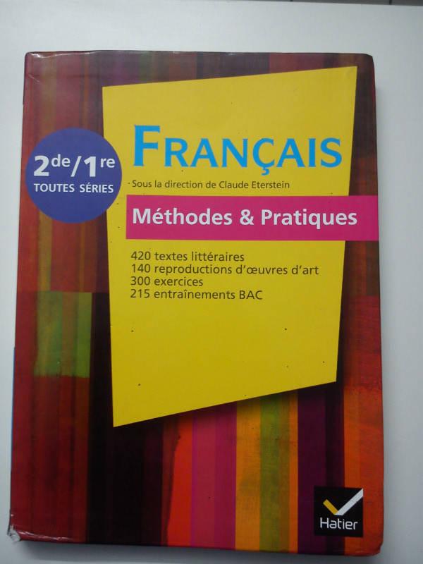 Livre Scolaire Seconde Francais 2de