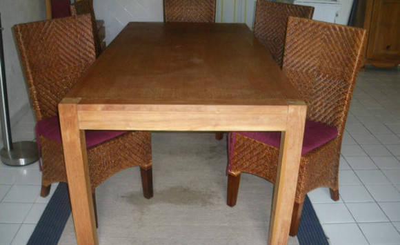 Table Salle à Manger Teck