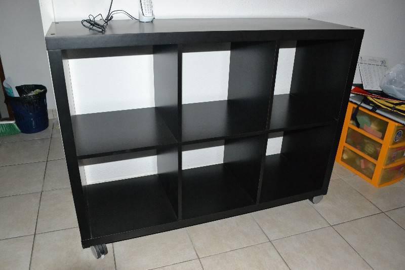 Meuble noir 6 cases annonce meubles et d coration for Meuble 6 cases