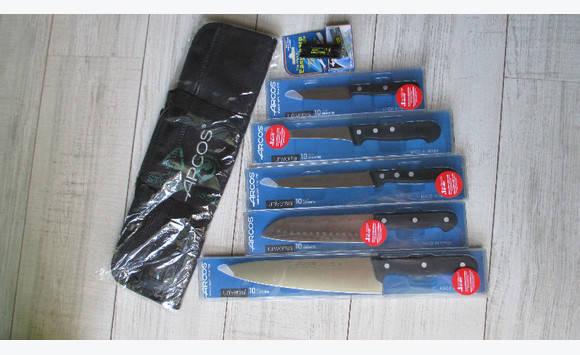 Couteaux de cuisine professionnels arcos tui annonce for Etui couteau cuisine