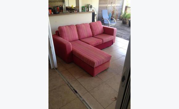 canap avec m ridienne annonce meubles et d coration. Black Bedroom Furniture Sets. Home Design Ideas