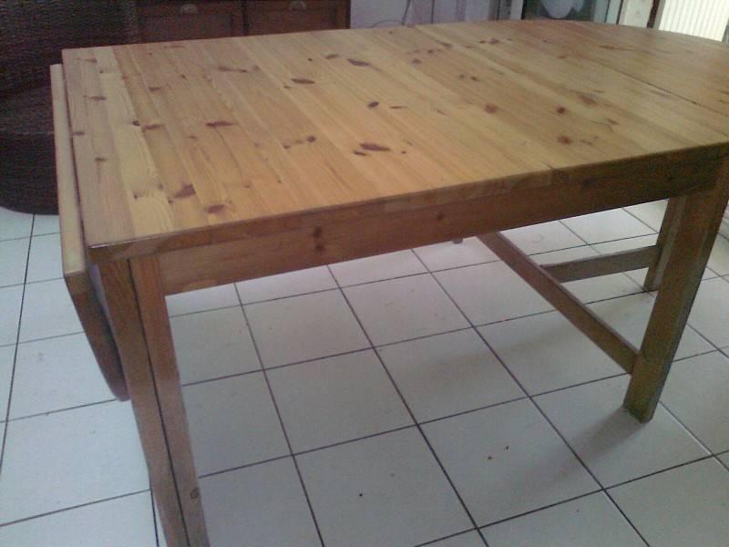 grande table ovale bois massif saint martin