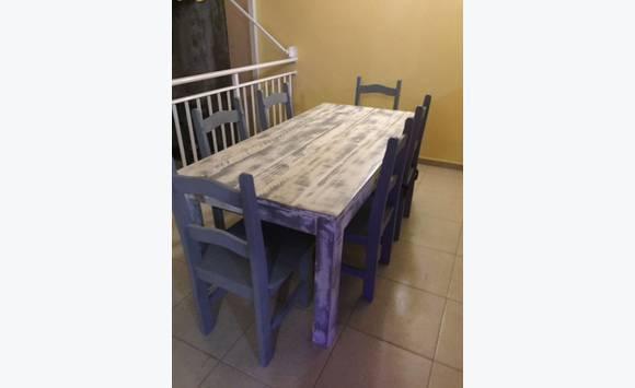 Table En Planches De Coffrage Disclosed Meubles Et