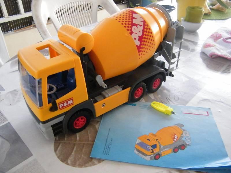 Camion playmobil annonce jeux jouets le lamentin - Betonniere playmobil ...