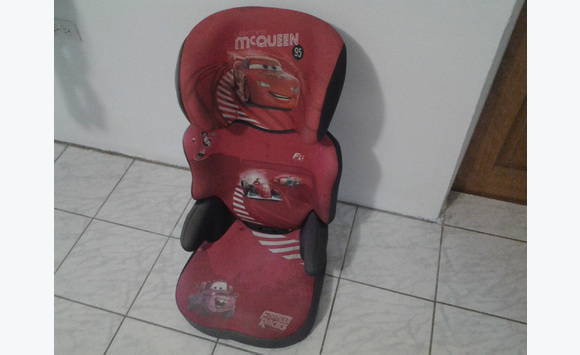 Car Seat Disney Cars Mcqueen
