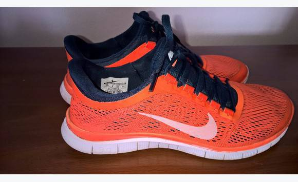 pas mal 8c1ab 09534 Nike Free Run 3. 0 Orange Fluo