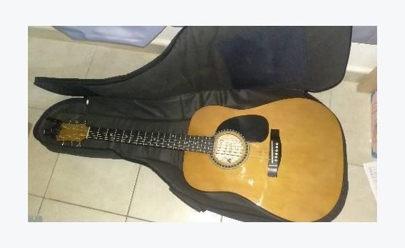 Guitare acoustique palmer accessoires housse annonce for Housse guitare acoustique