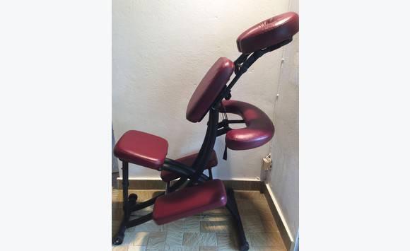 chaise de massage portal pro 3 oakworks annonce petit mat riel fort de france martinique. Black Bedroom Furniture Sets. Home Design Ideas