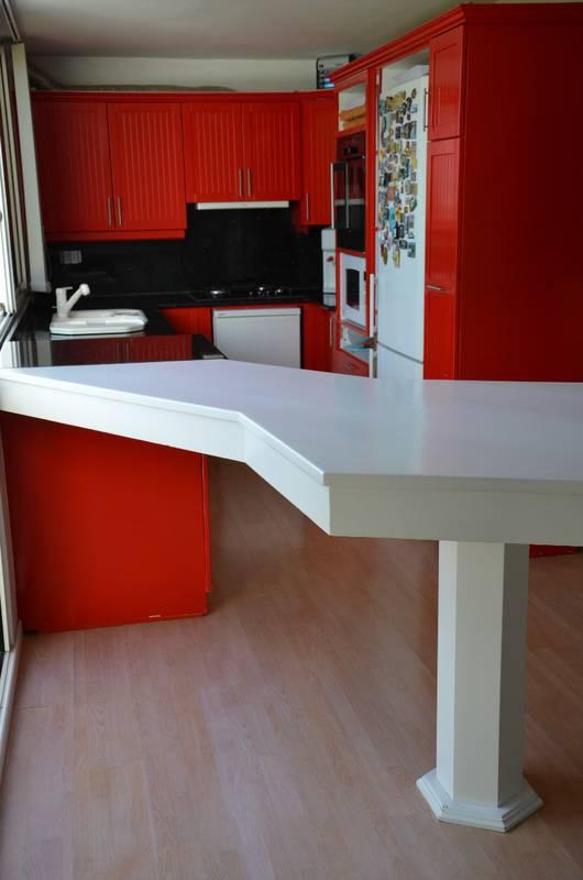 cuisine quip e annonce vide maison saint barth lemy cyphoma. Black Bedroom Furniture Sets. Home Design Ideas