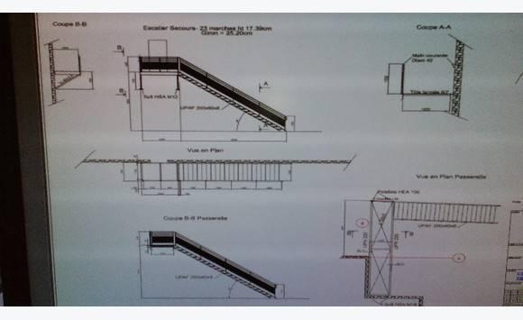 Escalier metallique annonce autres mat riel pro marigot saint martin - Escalier metallique prix ...