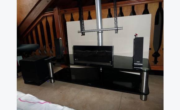 Lot meuble tv home cinema annonce image son mont for Lot meuble ecureuil