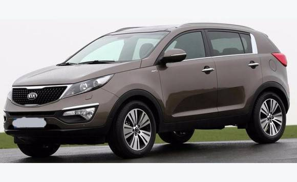 kia sportage marron 36500 km 2009 bon tat annonce voitures saint martin. Black Bedroom Furniture Sets. Home Design Ideas