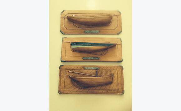 Molding of boats earthen terracotta applique furniture and