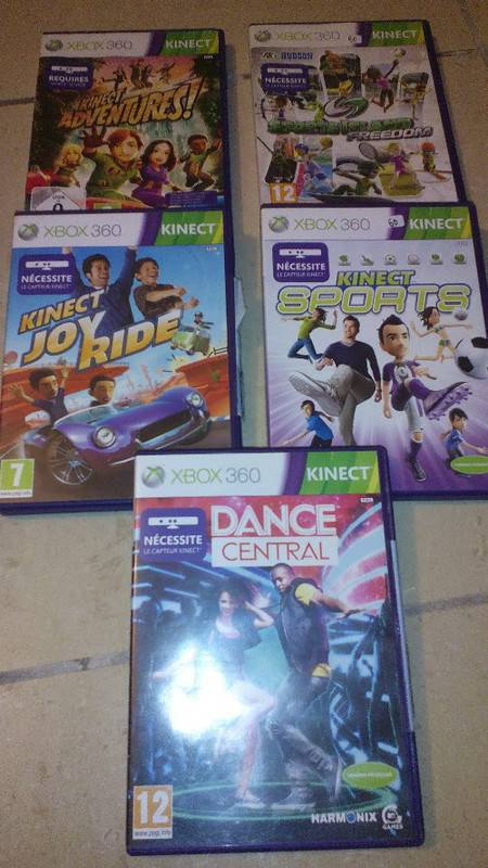 Kinect and xbox 360 games