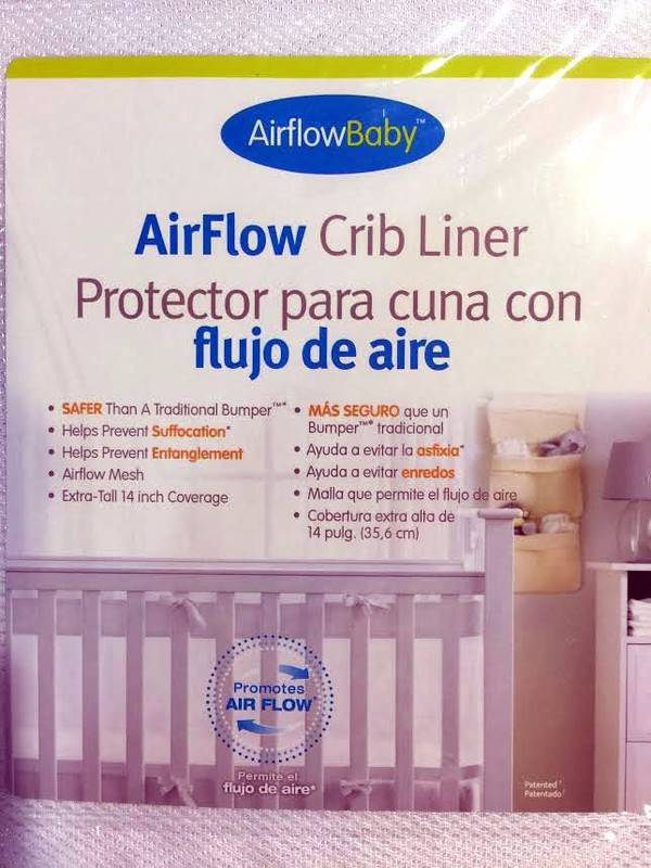 airflow baby mesh crib liner instructions