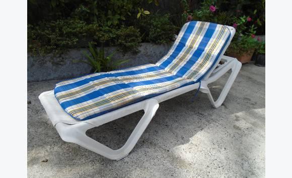 Chaise longue annonce mobilier et quipement d for Recherche chaise longue