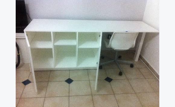 Meuble tv bureau rangement annonce meubles et for Meuble concordia