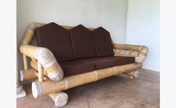 salon bambou annonce meubles et d coration cul de sac saint martin. Black Bedroom Furniture Sets. Home Design Ideas