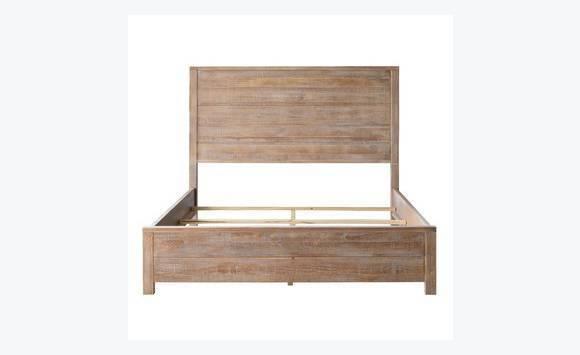 queen size bed solid wood - Lit Queen Size