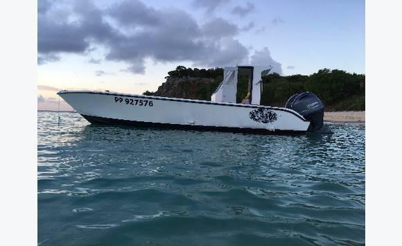 saintoise p che pro avec pme annonce bateaux moteur saint martin. Black Bedroom Furniture Sets. Home Design Ideas