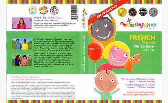 French Educational Dvds Preschool Kindergarten Dvds Cds