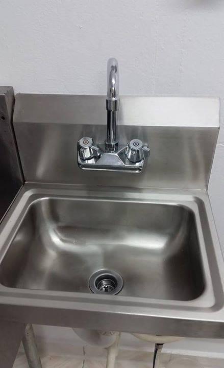 Rvs handwas wastafel advertentie meubels decoratie sint maarten - Wastafel originele ...