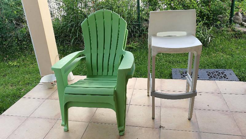Chaises ext rieures terrasse jardin annonce for Mobilier exterieur terrasse