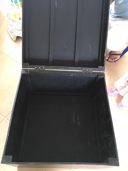 Coffre bois 60x60 h 45 cm annonce meubles et for Meuble 60x60