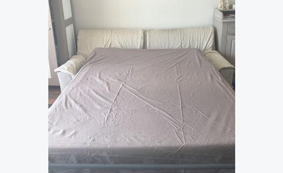 canap cinna convertible et d houssable ecru annonce. Black Bedroom Furniture Sets. Home Design Ideas
