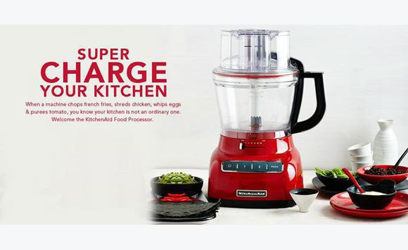 Ninja QB900B Master Chop + Kitchen Aid Food Processor