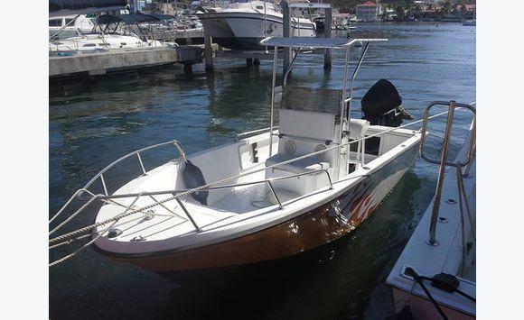 Fishing Boat Sportscraft 20' - Motorboats Sint Maarten • Cyphoma