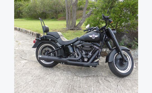 harley davidson fat boy s motos scooter quad saint martin cyphoma. Black Bedroom Furniture Sets. Home Design Ideas