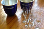 pommery Blue + 6 ice bucket cups of champagne