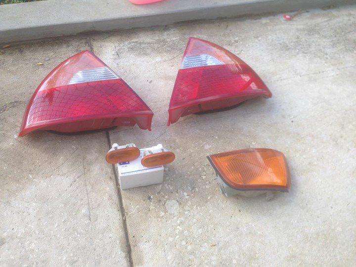 Mitsubishi lancer CK lights