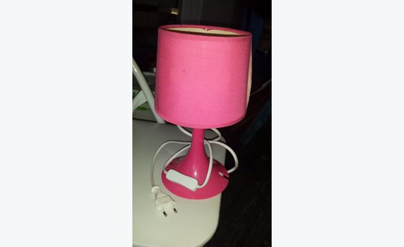 Lampe Rose Pink Light Lighting Sint Maarten Cyphoma