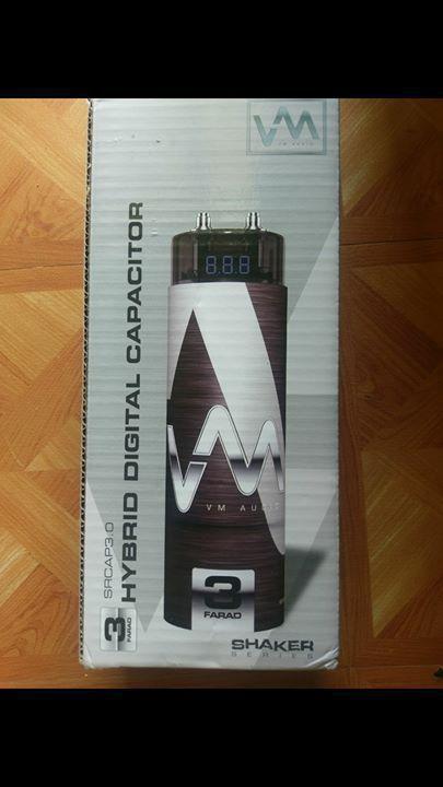 Car audio capacitor 3 farad