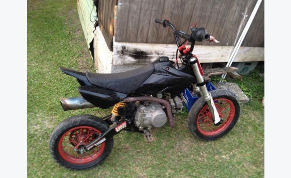 125 cc pit bike & 650 cc yamaha