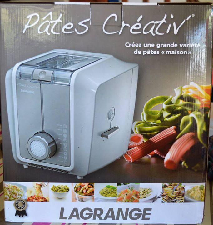 Machine à pâtes fraîches Lagrange électrique - Annonce ...