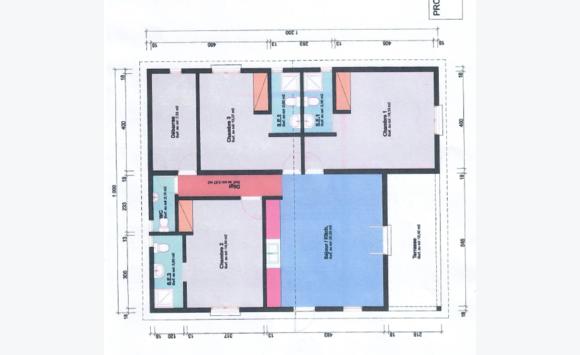 Maison sur plan t4 annonce ventes maison saint martin for Plan maison t4