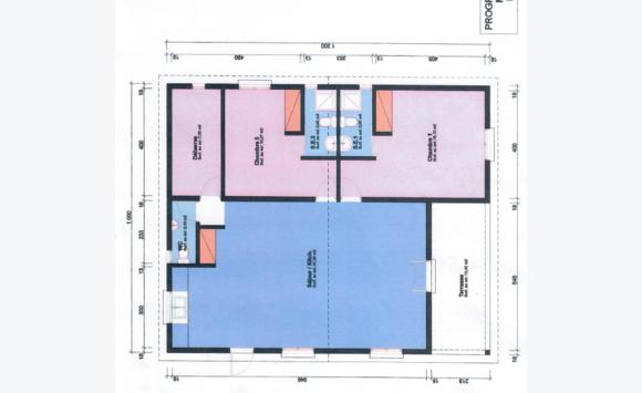 Maison sur plan t3 partie hollandaise annonce ventes for Plan maison t3