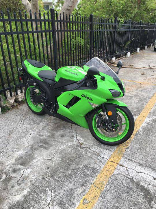 Kawasaki Ninja ZX6R 2008 - Classified ad - Motorbikes - Scooters ...