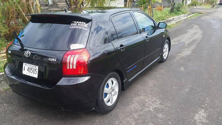 Toyota Runx 2003 Cars Antigua And Barbuda Cyphoma