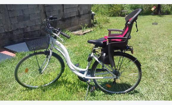 Vélo Avec Porte Bebe Femme Annonce Sports Hobbies Lamentin - Vélo porte bébé