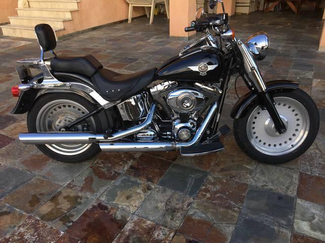 harley davidson fatboy annonce motos scooter quad saint martin. Black Bedroom Furniture Sets. Home Design Ideas