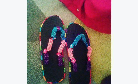 Claquettes en plastiques - Annonce - Chaussures Morne-à-l Eau ... 23843fb003d0