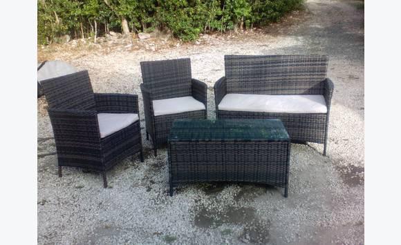 Salon de jardin en r sine annonce mobilier et - Mobilier de jardin zyke saint etienne ...