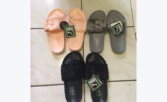 8b8121ed71fe Fenty Puma Slippers By Rihanna - Shoes Sint Maarten • Cyphoma