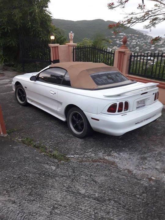 98 Ford Mustang Gt 4 6l Convertible Sint Maarten