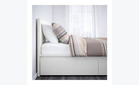 ikea single bed with storage drawers classified ad furniture and decoration antigua and barbuda. Black Bedroom Furniture Sets. Home Design Ideas