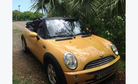 Mini Cooper Convertible 2007 Automatic Cars Saint Barthélemy